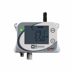 WiFi-sensor för temperatur & luftfuktighet för två externa givare