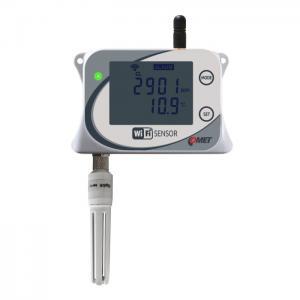 WiFi-sensor för CO2, temp, luftfuktighet & barometertryck
