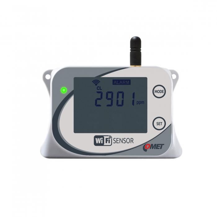 WiFi-sensor för CO2 - Koldioxid