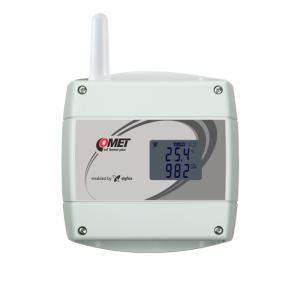 Trådlös IoT temperatur, luftfuktighet & CO2-mätare