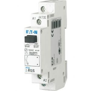 Relä för normcentral 230VAC/20A 2NO