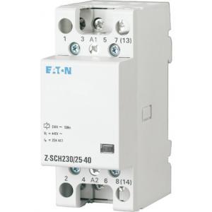 Kontaktor för normcentral 230VAC/25A 4NO