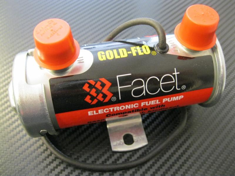 "Facet ""Gold-Flo"" Red Top Competition"