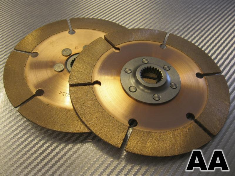 10 x 35 mm 2-Plate Clutch Disc Pack