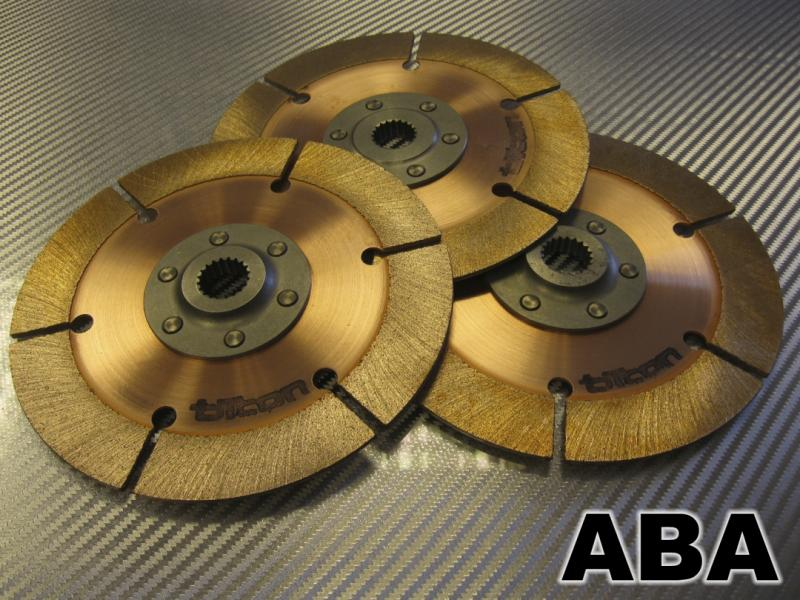 "10x1 3/8"" Clutch Disc Pack 3-Plate"