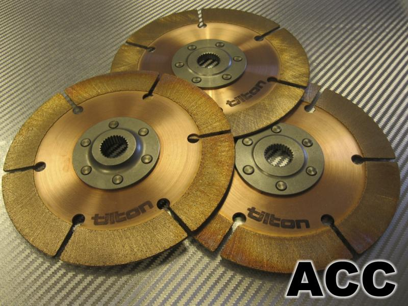 "Clutch Disc Pack (3-Plate) - 23 x 1"" x 30°"