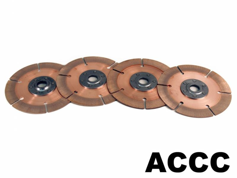 "10x1 3/8"" Clutch Disc Pack 4-Plate"