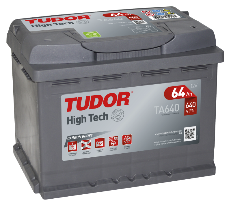Tudor High-Tech 64Ah