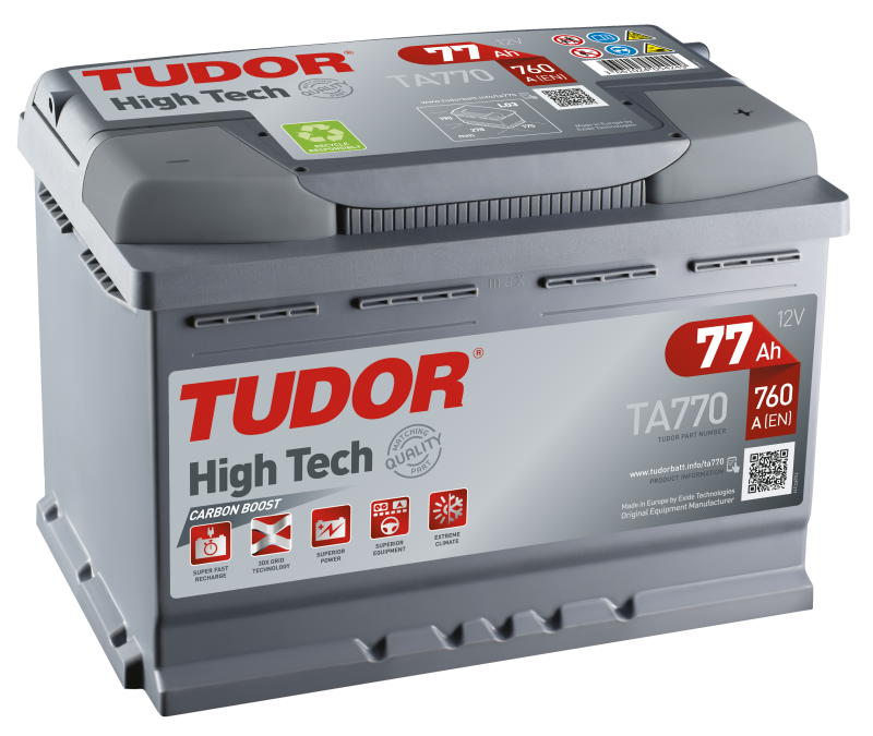 Tudor High-Tech 77Ah