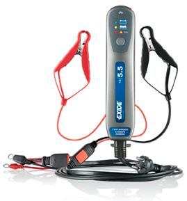 Batteriladdare elektronisk. 12VDC  För batteri  5,5 Ah