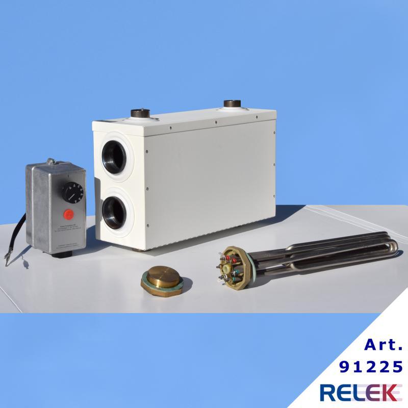 Reserv- och spetsvärmepaket för exempelvis värmepumpar
