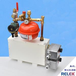 RELEK elpanna som är monterad  Används för värmesystem till båtar och fartyg