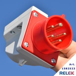 CEE-don väggintag 16A 5-poligt för RELEK Elpanna 911130