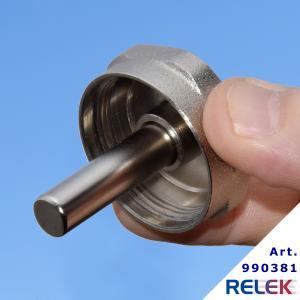 Huv med magnet, för filterkulventil på RELEK elpannor