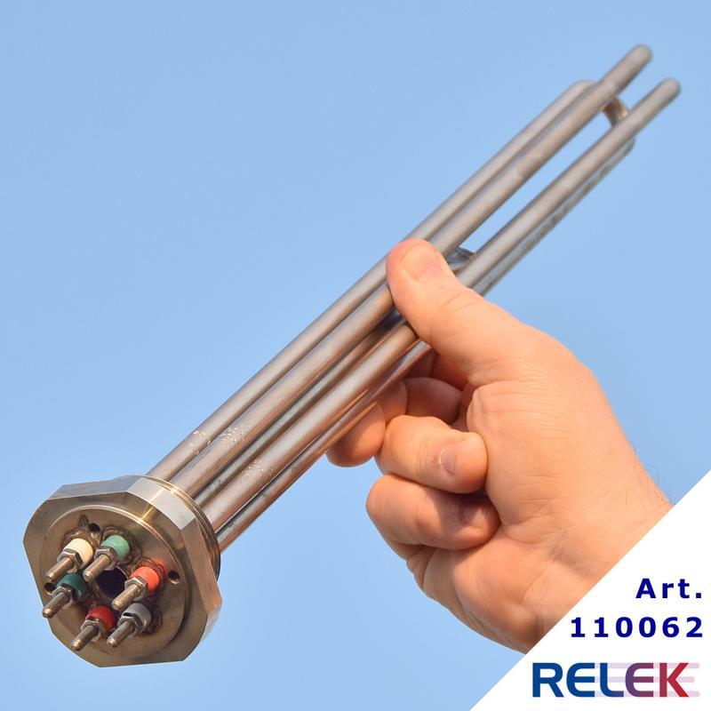 Elpatronelement R40 IU-60S 6kW 230/400V IL=415 mm