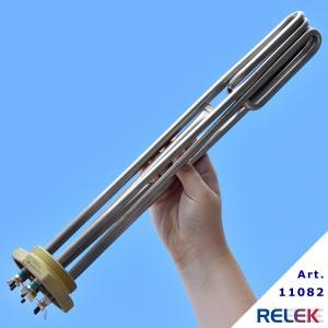 Elpatronelement  6000W R50 IL=390mm IU-39rf PPE-6rf rostfri