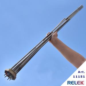 Elpatronelement 6000W 2,7W/cm² R50 IL=1085mm OE-39 rostfritt