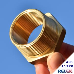 Monteringstillbehör för elpatron, för R32-gänga när man har R40-gänga