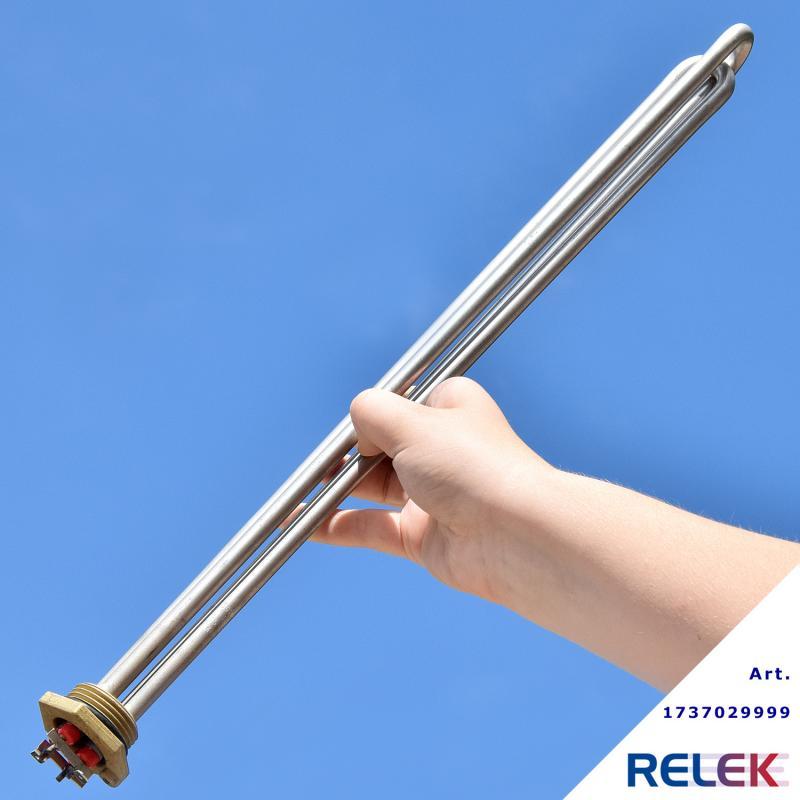 elpatron för varmvattenberedare tvåfas anslutning r25gänga