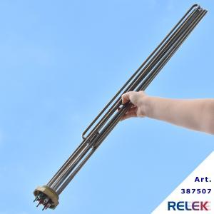 Elpatronelement 23300W R50 IL=900mm IU3R-23,3rf rostfritt