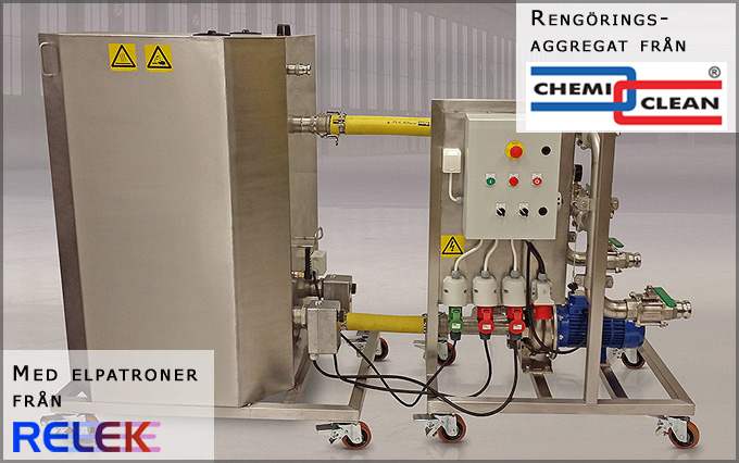 elpatroner som är tåliga för aggressiva vätskor, som används i rengöringsaggregat / tvättaggregat