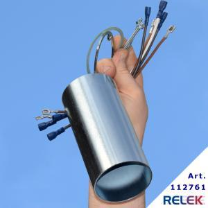 Förlängare till 4-stegs elpatroner med R50-huvud, förlängare som är 15 cm lång.   Monteringssats ingår, med kablar som tål värme.