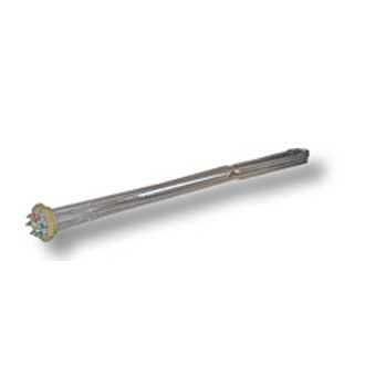 Elpatroner för att värma olja och hydraulolja. Tillverkade i rostfritt stål med R50-gänga.
