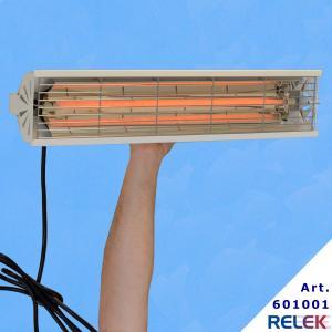 IRvärmare en värmare som monteras med två remmar och kan hängas på valfri höjd beroende på vilken värme som behövs