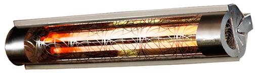IR-värmare, ger värme som är mild och behaglig, mycket hög kvalitet