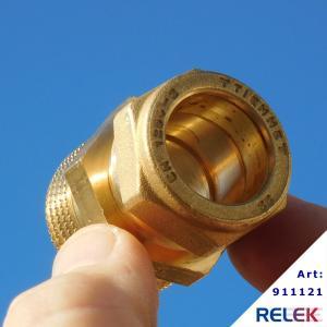 Klämringskoppling Rak 22xR25 utvändig, för RELEK Elpanna