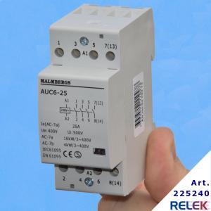 Kontaktor som är anpassad för elvärme och motordrift som fläkt eller ventilation