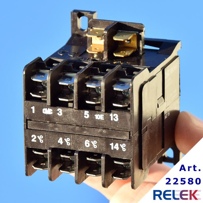 Kontaktor MOHF-10E 3sl+1sl, Manöversp. 400V AC