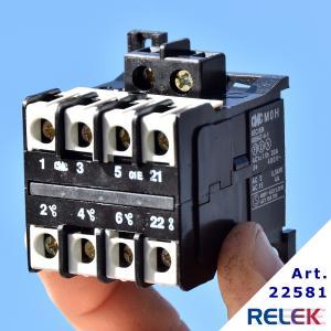 Kontaktor MOH-01E 3sl+1br, Manöversp. 24V AC