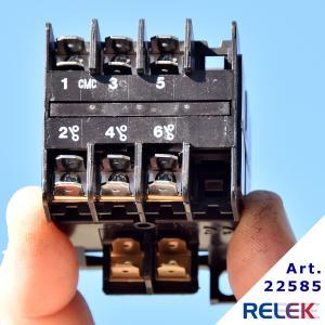 Kontaktor MOHF-00D-SPU 3 slutande, Manöversp.24V AC