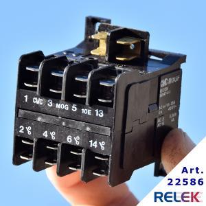 Kontaktor MOGF-10E 3sl+1sl, Manöversp. 24V DC
