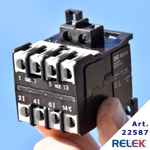 Kontaktor MOH-10Z. 3br+1sl, Manöversp. 230V AC