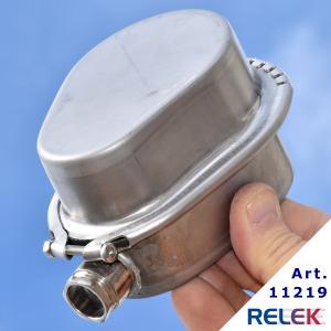 Kopplingsbox  KR1, rostfri, inkl. monteringsdetaljer