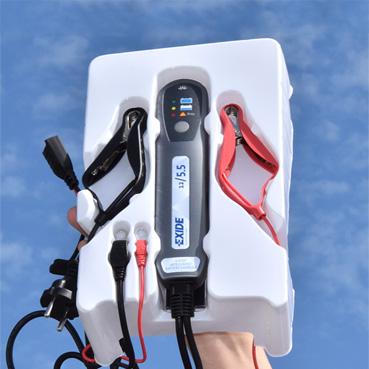batteriladdare för 12volt som används för många typer av batterier och för nödströmsanläggningar