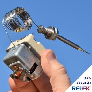 Överhettningsskydd 3-pol 135-12°C, EGO 1490mm 6mm M9