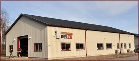 RELEK har huvudkontor i Skåne, norr om Lund, söder om Hässleholm