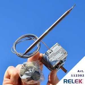 Termostat 20-500°C 1-pol JUMO 1-stegs med växlande kontakt