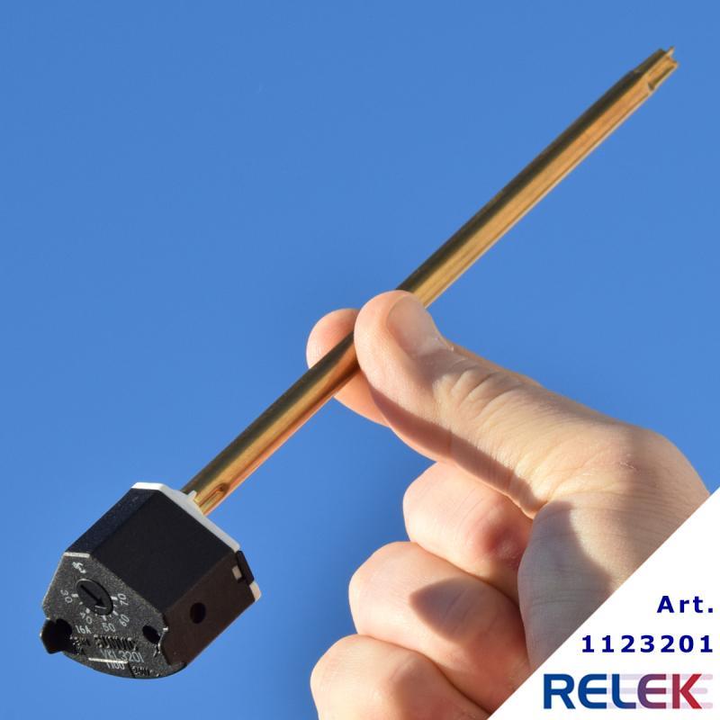 Stavtermostat, VKL 3201, 30-70°C, max 96°C, 7,5x178mm