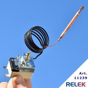 Termostat 35-95°C 1pol CAEM 1-stegs med växlande kontakt