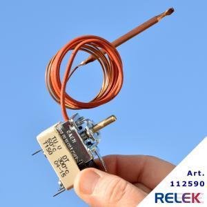 Termostat 50-300° 1-pol CAEM 1-stegs med växlande kontakt