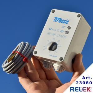Termostat, Termonic 16090, elektronisk, väggmont. -15°+95°