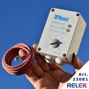 Termostat, Termonic 16150, elektronisk, väggmont. -15° +150°