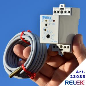 Termostat, Termonic 26090, elektronisk, DIN-mont. -15° +95°