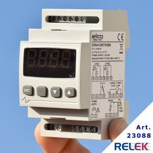 Elektronisk 2-stegs temp-regulator EVCO EV6412 med givare