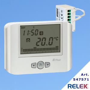 GSM-termostat Vemer MITHOS RF, med trådlös mottagare RX.16A