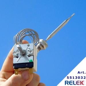 termostat med kapillärrörslängd 870 mm som används på restauranger, krogar, restaurangkök, till fritöser, stekning mm.